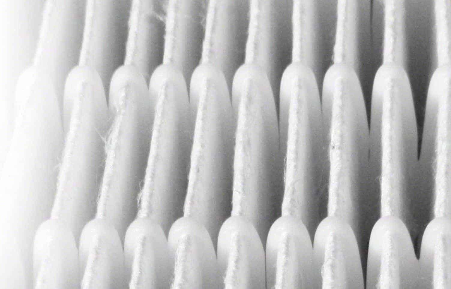 The pleated structure of the Nanomax filter